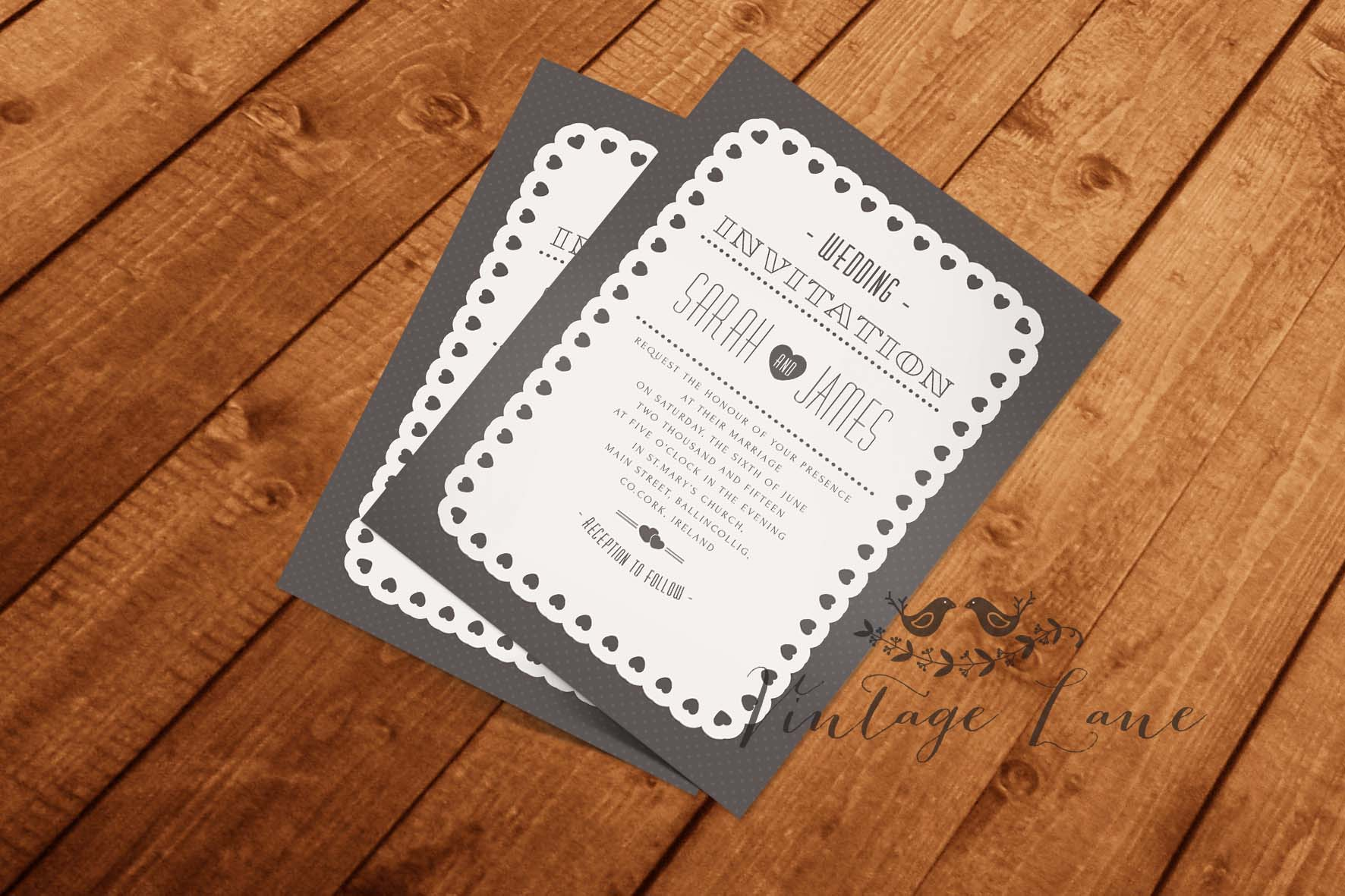 wedding invitations cork Archives - Vintage Lane