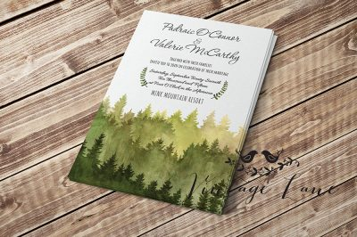 day-invite-preview-front-watercolor-forest-theme-woods-theme-wedding-invitation-rustic-wood-wedding-invittion-cork-ireland