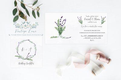 lavender style wedding lavender wedding invitations cork ireland