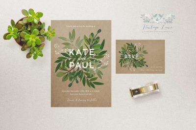 modern greenery wedding stationery calligraphy fashion invitations trending wedding invitations ireland cork dublin krerry limerick