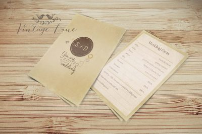 rustic-brown-wedding-invitation-vintage-lane