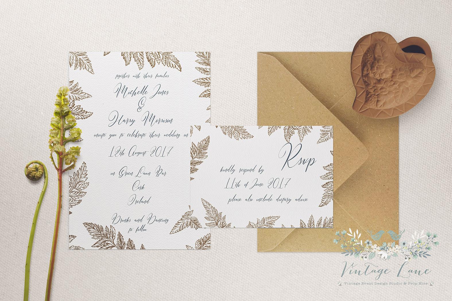 rustic-wedding-invitations-cork-wedding-invitations-dublin-natural ...