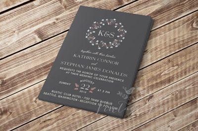 simple-tender-floral-wreath-wedding-invitation-vintage-lane-cork-ireland