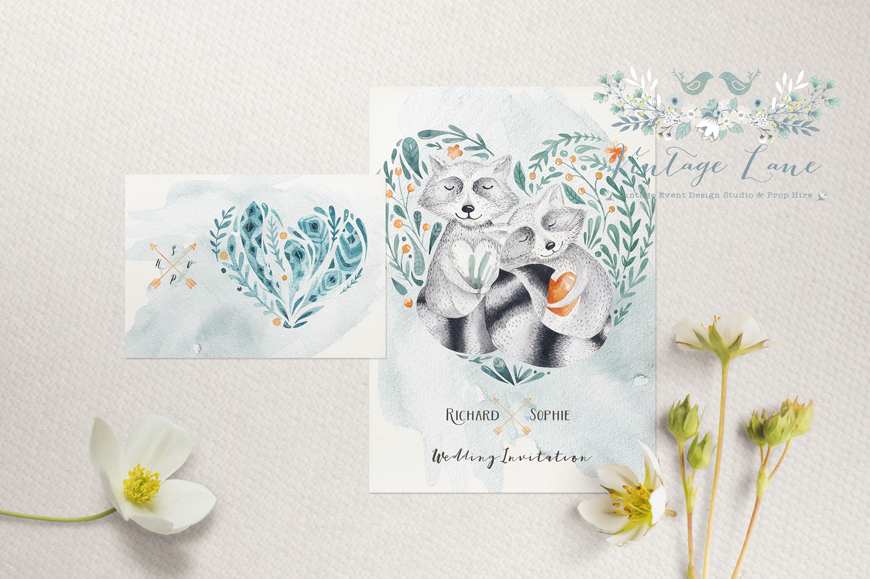 Irish wedding invitation cards