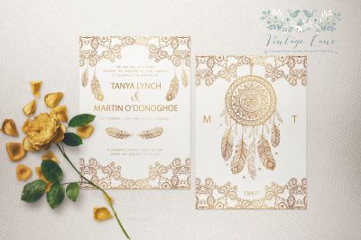 boho-wedding-invitations-ireland-boho-style-wedding-invitations-feather-wedding-invitations-ireland-cork-vintagelane-design-studio-cork-kate-kosareva-designs