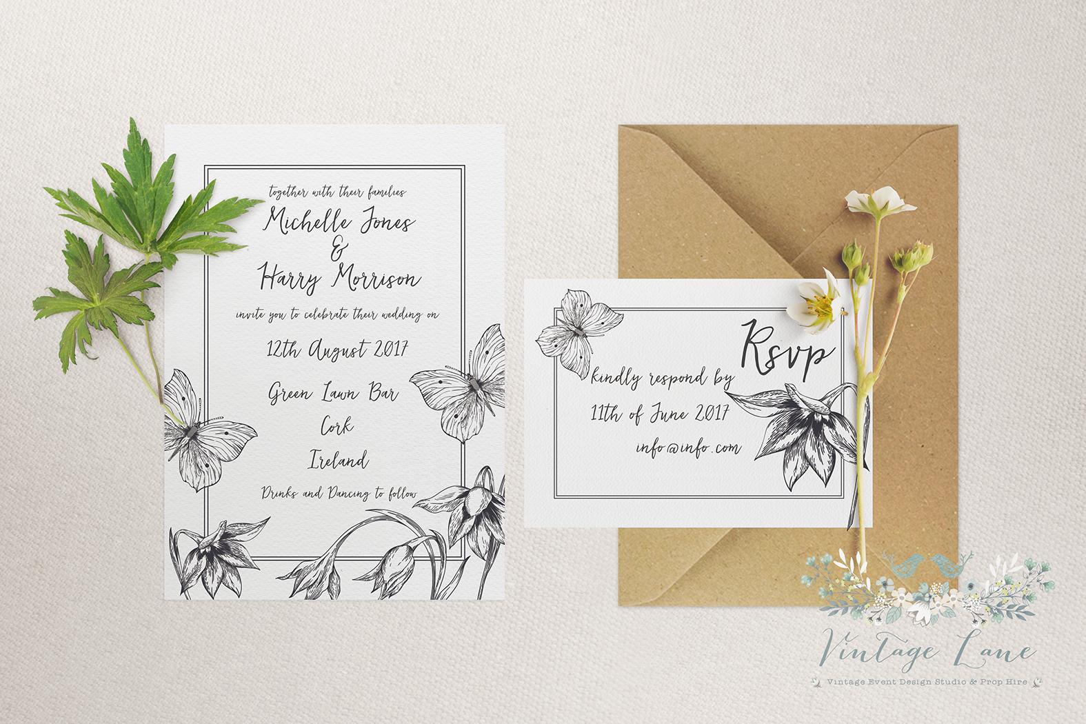 Wedding Butterfly Invitations: Wedding Invitations