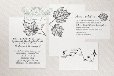 fall wedding invitations rustic autumn wedding invitations simple wedding invitations dublin cork killarney ireland vintage lane studio