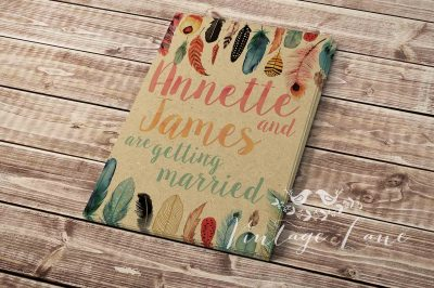 feathers-boho-style-wedding-invitation-personalised