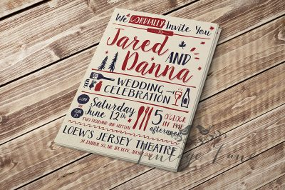 festive-wedding-invitation-personalised-rustic-style-vintage-style-wedding-invitations-ireland-vintage-lane