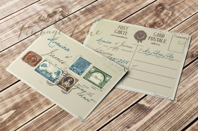 post-card-style-wedding-invitation-vintage-lane-ireland-wedding-stationery-cork