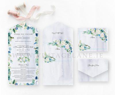 powder blue wedding invitations sky blue invitations daitny blue wedding invitations white flowers wedding invitations cream flowers wedding invitations birds bluetits