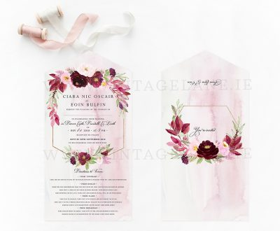 burgundy wedding flowers burgundy colour scheme wedding invitations rich burgundy flowers cork ireland vintage lane