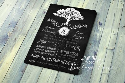 rustic-chalkboard-wedding-invitation-cork-ireland-vintage-lane
