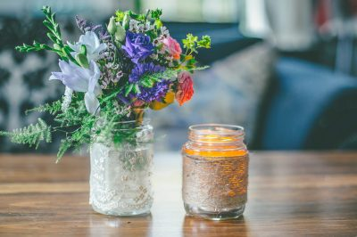 jars-with-flower-candle