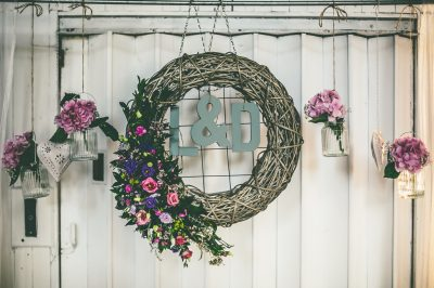 large-hanging-natural-willow-wreath-and-large-jars-with-handle-and-cream-tealight-hanging-hearts