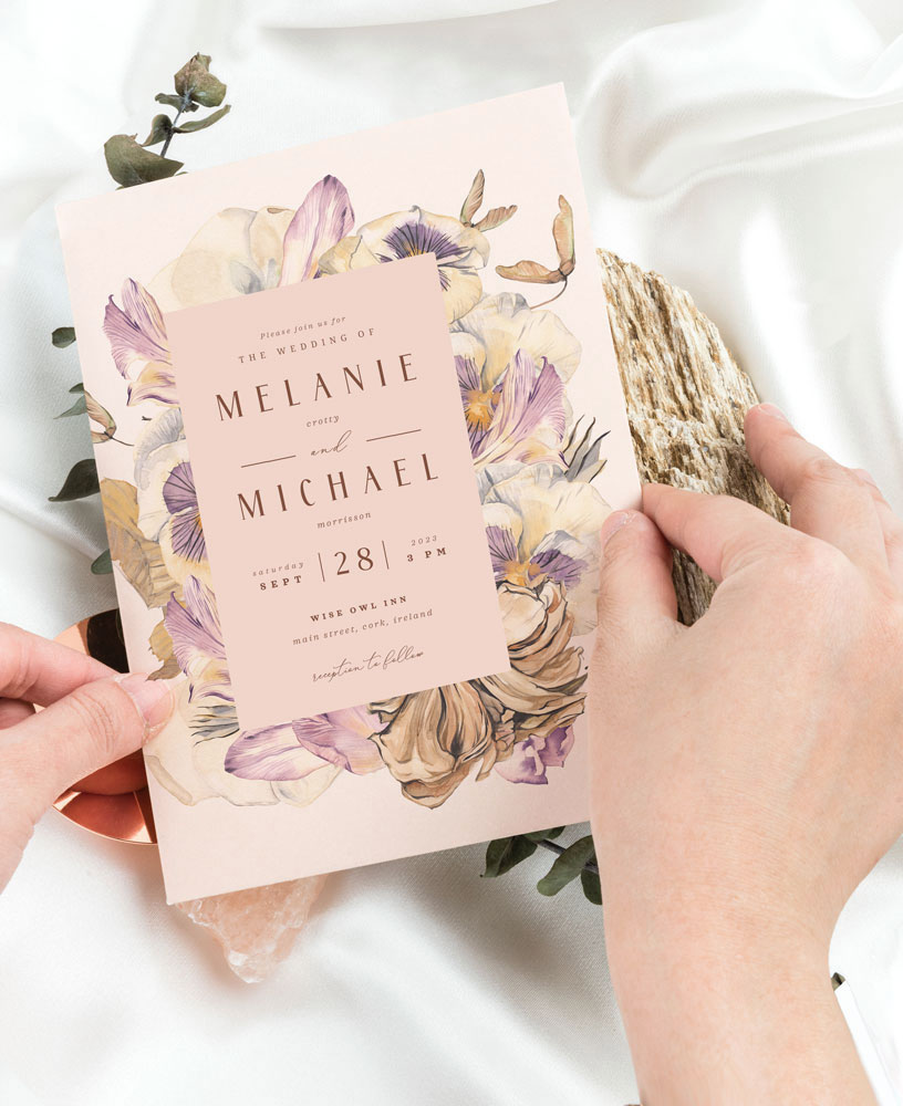 beige-dry-flowers-wedding-invitation-autumnal-wedding-invitations-fall-wedding-invitations-dried-bouquet-wedding-invitations-cork-ireland