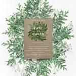 kraft eco style wedding invitations green natural wedding invitations ireland cork dublin2