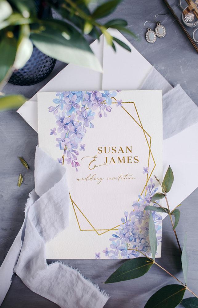 lilac-frame-with-flowers-silk-ribbon-lilac-wedding-flowers-lilac-wedding-stationery-feminine-design-bride-to-be-2022-ireland-vintage-lane-cork