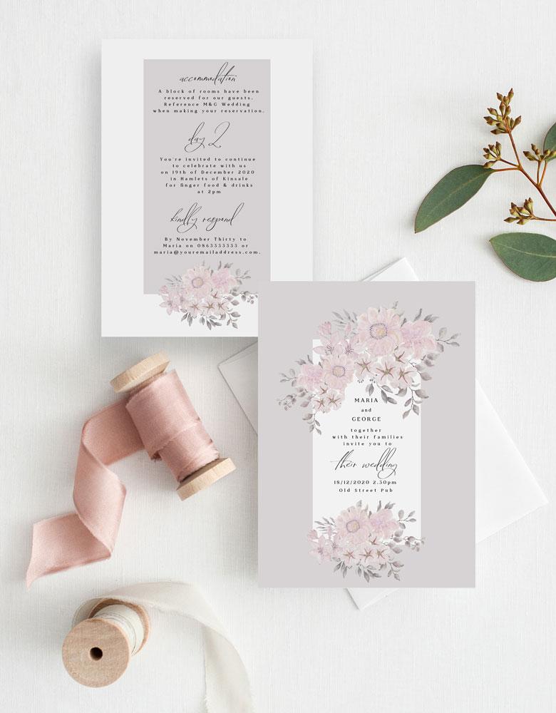 pastel-pink-wedding-invitations-cork-powder-pink-flowers-watercolour-drawing-illustration-ireland