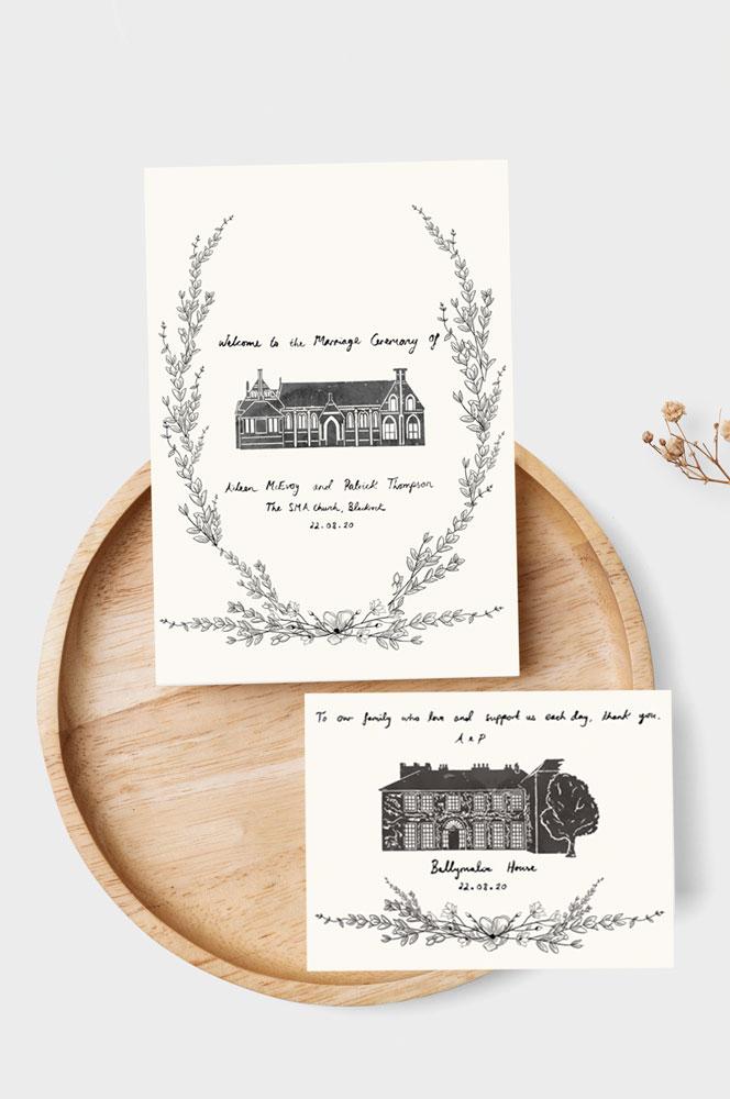 rustic-style-wedding-invitations-personalised-wedding-stationery-cork-simple-style-wedding-stationery-plain-design-wedding
