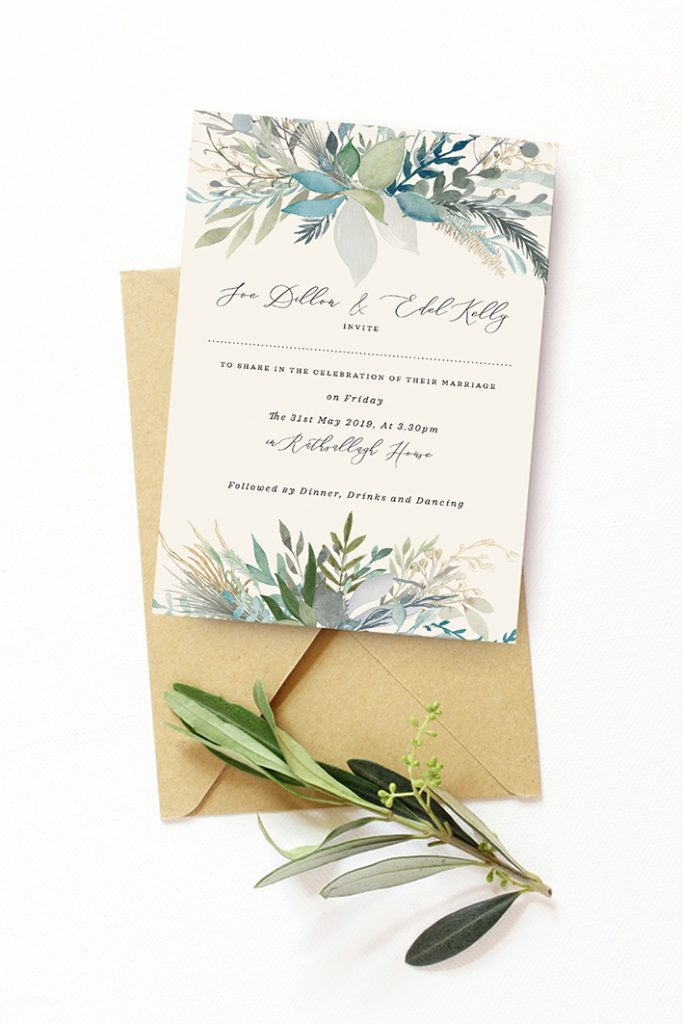 silver greenery sage green wedding colour scheme sage green wedding design winter wedding summer wedding gold details wedding stationery vintage lane