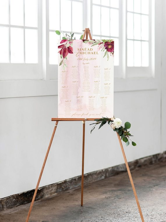 mounted table plan printing cork a1 table plan printed