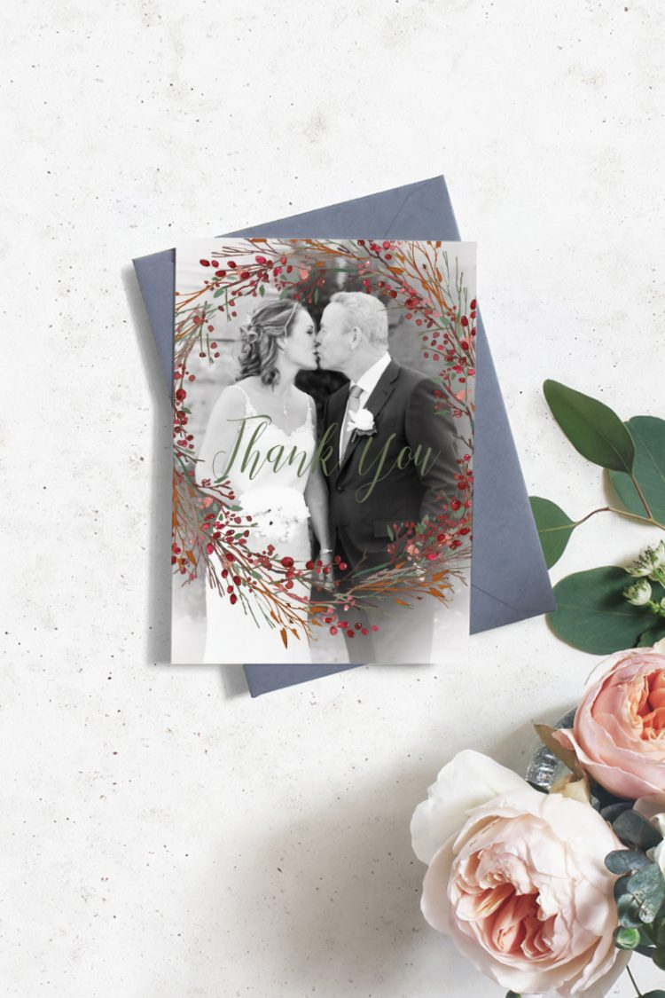 thank you cards wedding thank you cards printing in cork vintage lane ptinting wedding stationery 3