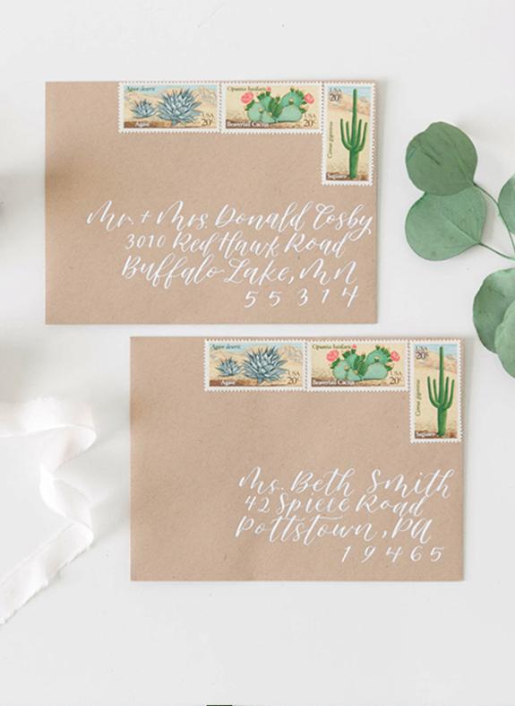 wedding envelopes printed envelopes calligraphy envelopes modern envelopes contemporary envelopes cork ireland kerry