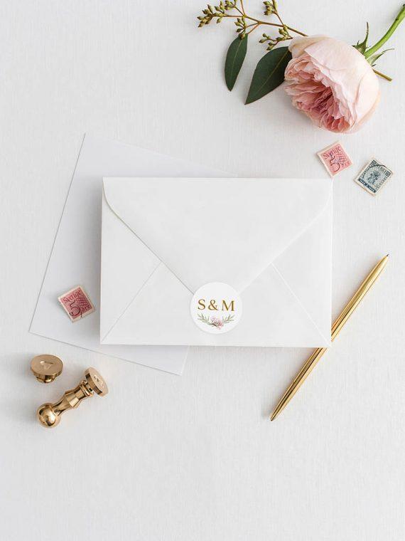 wedding envelopes seal stickers personalised stickers envelope stickers wedding stickers vintage lane cork