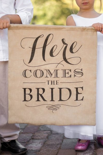 personalised jute canvas hessian burlap signs cork ireland
