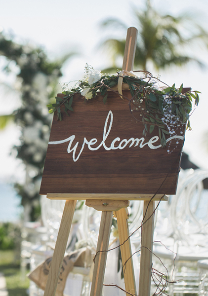 Wedding Welcome Sign.Welcome Wedding Sign