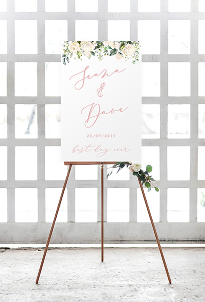 transparent sign acrylic sign wedding clear plastic sign modern signs for wedding ireland cork dublin vintage lane
