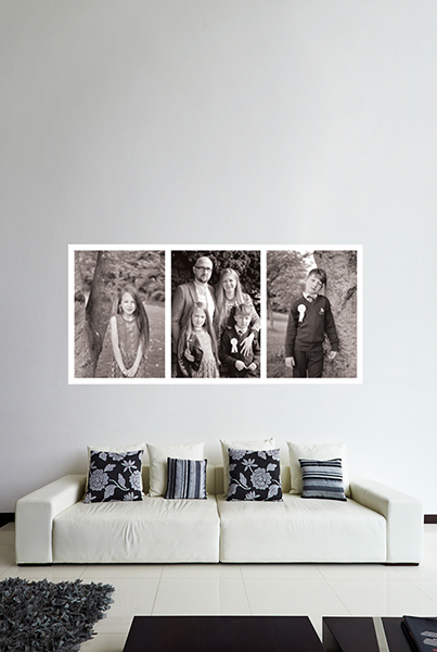 family print extra large print large format printing ireland cork super size portrait oversize portrait of family photo collage of family cork ireland