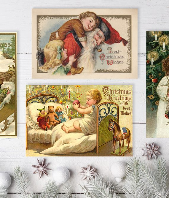 Noel Style Christmas Cards Noel Antique christmas cards scandinavian christmas postcards old style cork ireland