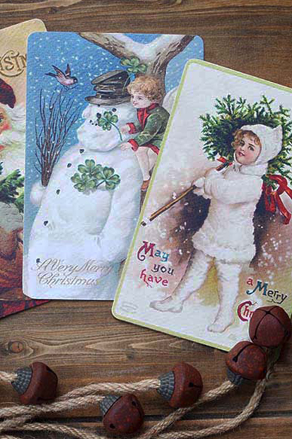 Vintage Style Christmas Cards Noel Antique christmas cards scandinavian christmas postcards cork ireland christmas buy cards online cork