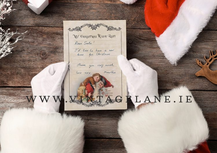 kids wish list for christmas letter to santa cork ireland