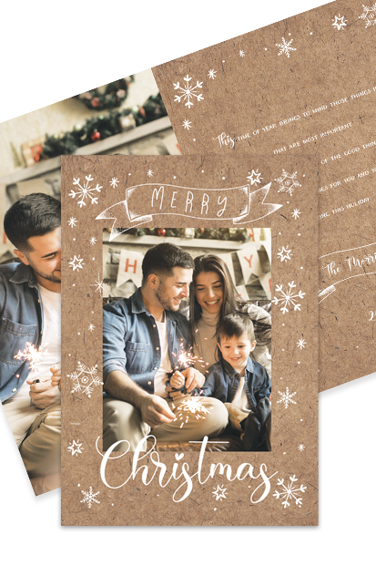 Family christmas photo cards order online photo cards xmas buy in cork personalised photo christmas postcards buy in cork online shop local
