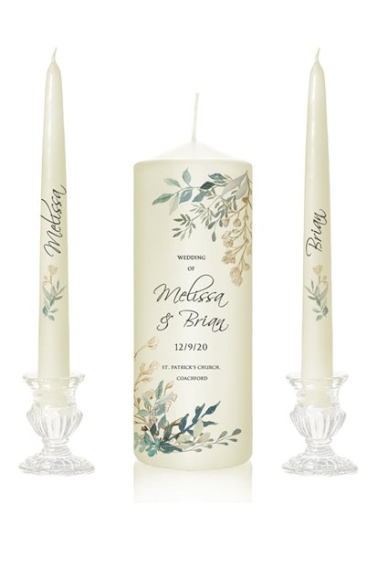 personalised candles cork unity candles online cork buy candles online cheap wedding candles cork ireland