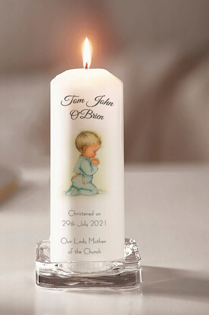 Baptism Candle Cork Baptism Candle Online Spiritual Candles Online God Bless Church candle for a baby baptism celebration