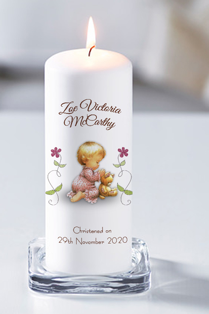 Baptism Candle Cork Baptism Candle Online Spiritual Candles Online God Bless Church candle for a baby boy candle with photo online baptism