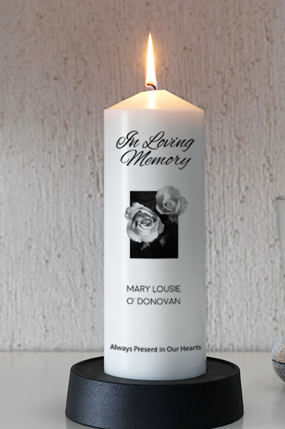Remembrance Candle Cork Memorial Candle Online Spiritual Candles Online Memory Candle Church candle to remembrer