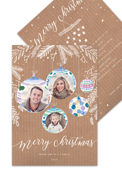 family personalised photo christmas postcard cards vmodern xmas cards beautiful christmas cards made in ireland order online shop cork online 2