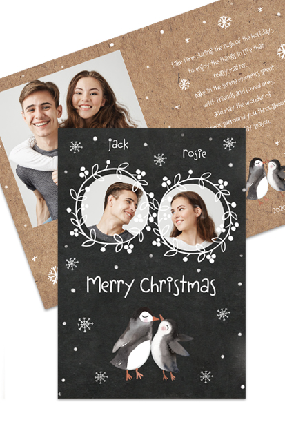 Couple Christmas Cards