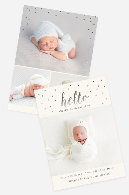 white birth announcement card stationery dusk pink cards occasion stationery cork ireland