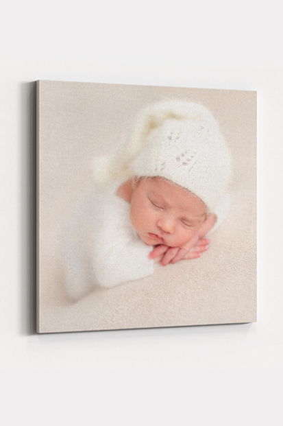 Newborn Baby Canvas Print Modern baby stationery contemporary occasion stationery cork beautiful and quality canvas printing cute baby prints cork ireland ballincollig