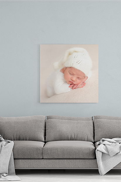 Newborn Baby Canvas Print Modern baby stationery contemporary occasion stationery cork ireland beautiful and quality canvas printing cute baby prints cork ireland ballincollig